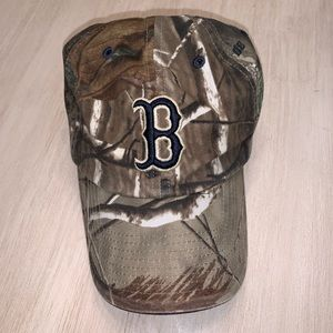 Camo Boston Hat